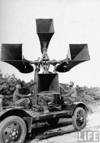 Sound locator M1A1 à l'exercice (2)