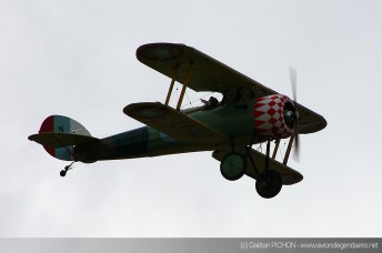 Nieuport 28 - Meeting Armée de l'Air - Nancy 2014