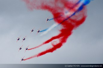 Patrouille de France - Meeting Armée de l'Air - Nancy 2014