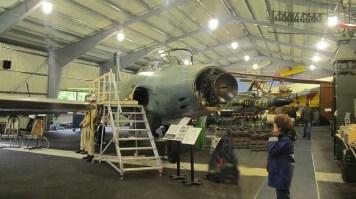 Saab J32B Lansen et Draken au fond