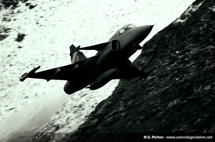 Démonstrateur Saab Gripen E/F - Axalp 2012