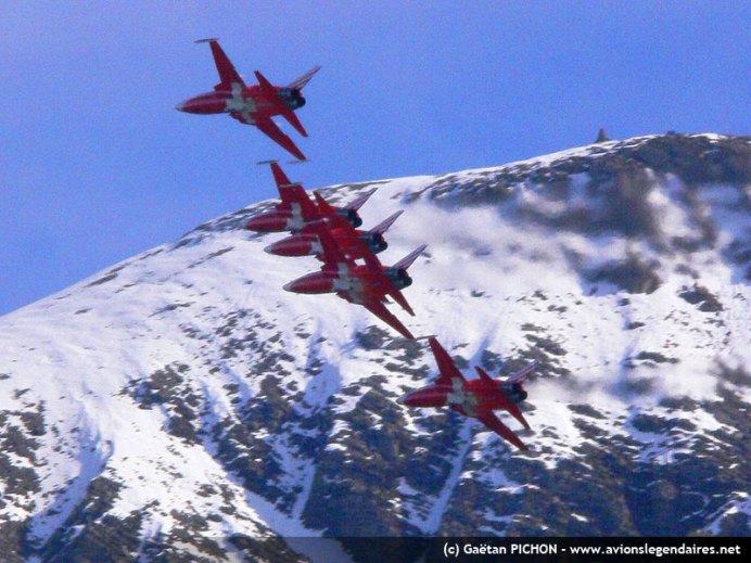 Patrouille aérienne suisse - Axalp 2010