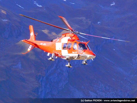 Agusta 109 de la REGA - Axalp 2010