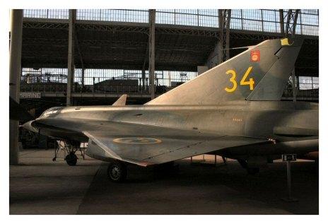 Saab J-35 - Musée de l'Air - Bruxelles