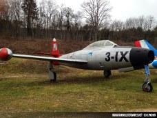 Republic F-84G Thunderjet - Patrouille de France