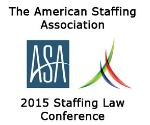 ASA Staffing Law Conference 2015