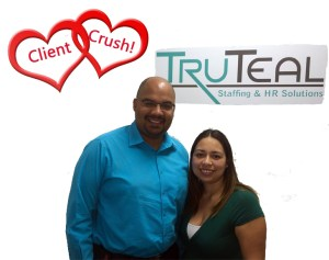 William and Perla from TruTeal