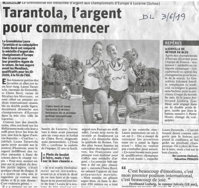 Tarantola, l'argent pour commencer
