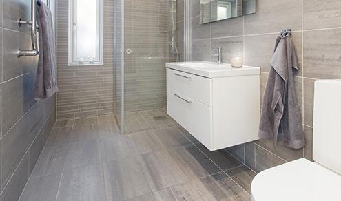 pour votre salle de bain un sol