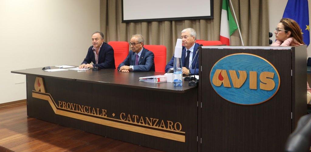 Procuratore Nicola Gratteri in visita all'Avis Calabria