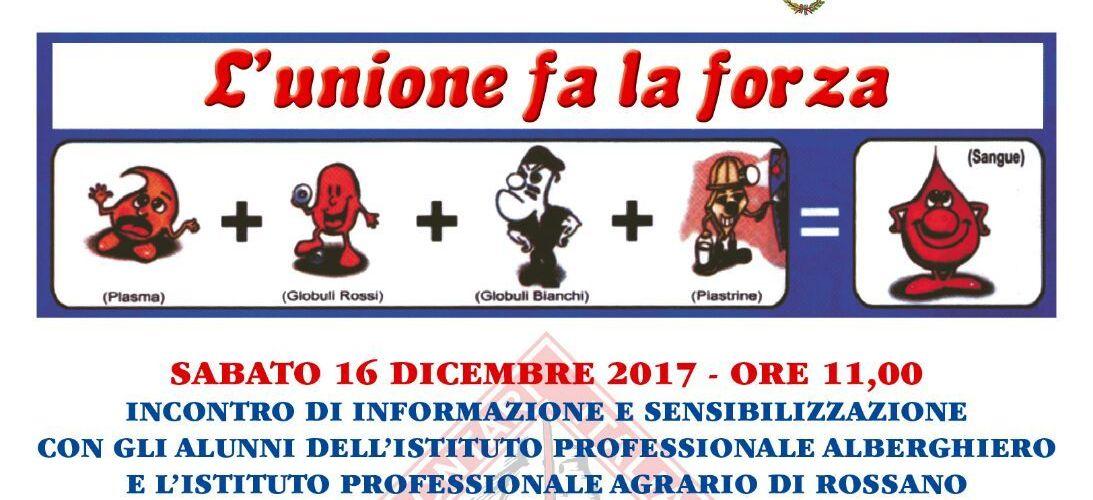 32^ Giornata del Donatore a Rossano.