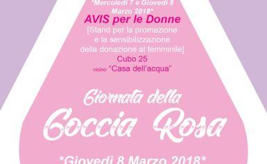 """Evento """"Giornata della Goccia Rosa"""" 7 e 8 Marzo UNICAL Rende"""
