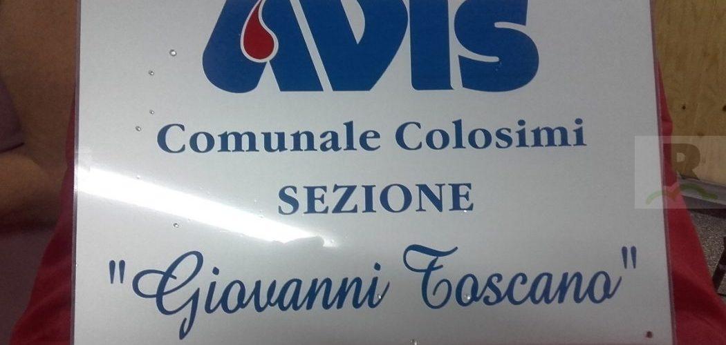 Colosimi, l'Avis Comunale ricorda il suo fondatore