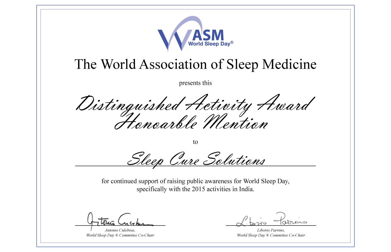 2015 World Sleep Day