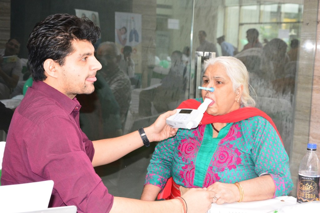 respiratory disease mega camp aviss health gurgaon