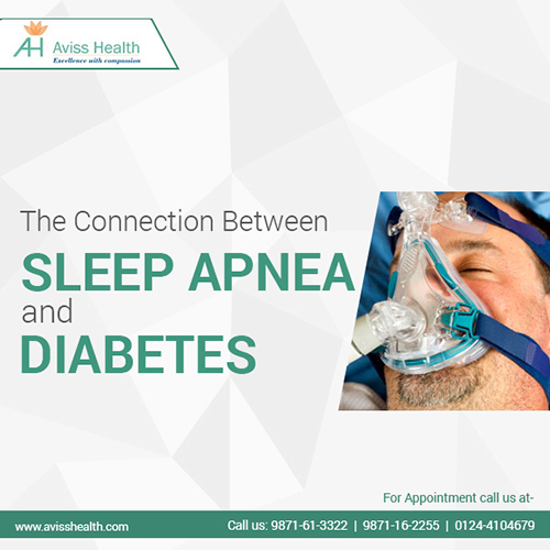 Sleep apnea and diabetes in India