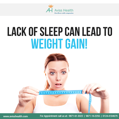 Can sleep apnea lead to unhealthy weight gain?