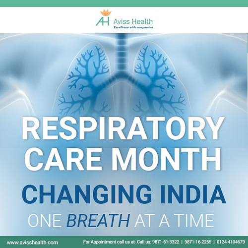 Aviss Health celebrates November as Respiratory Care Month