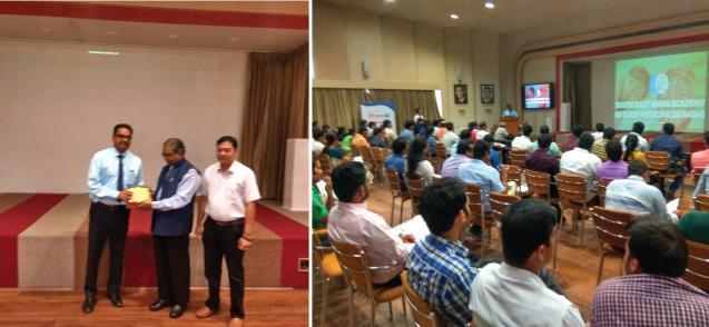 Dr Himanshu Garg introduced Post Graduates to Sleep Medicine at Jaipur on 7th October 2017