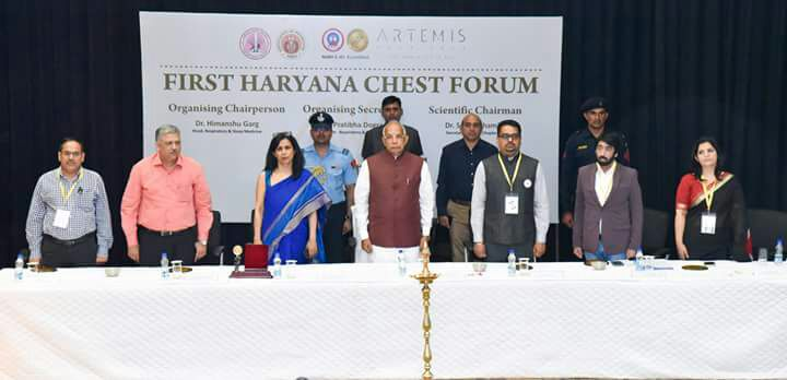 the haryana chest summit 2018 prof kaptan singh solanki