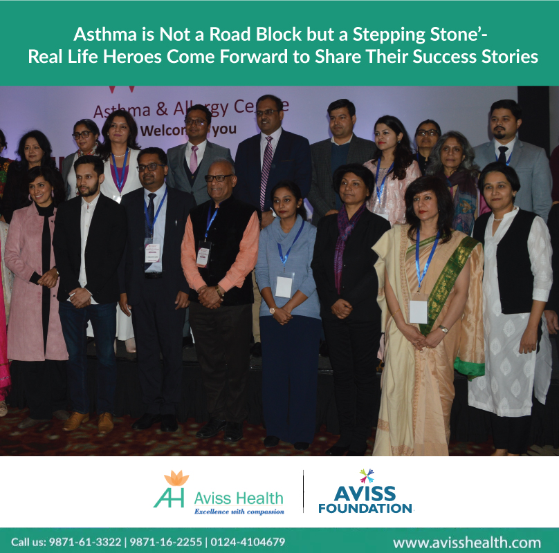 Asthma Is Not a Road Block but a Stepping Stone'- Real Life Heroes Come Forward to Share Their Success Stories