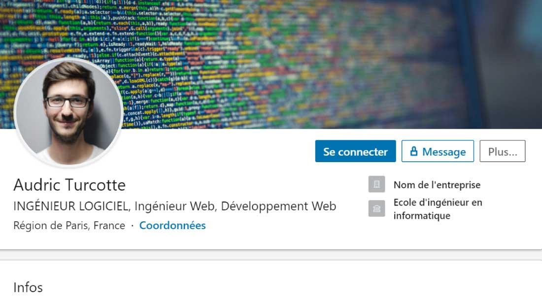 Ingenieurs Decouvrez Notre Exemple De Profil Linkedin