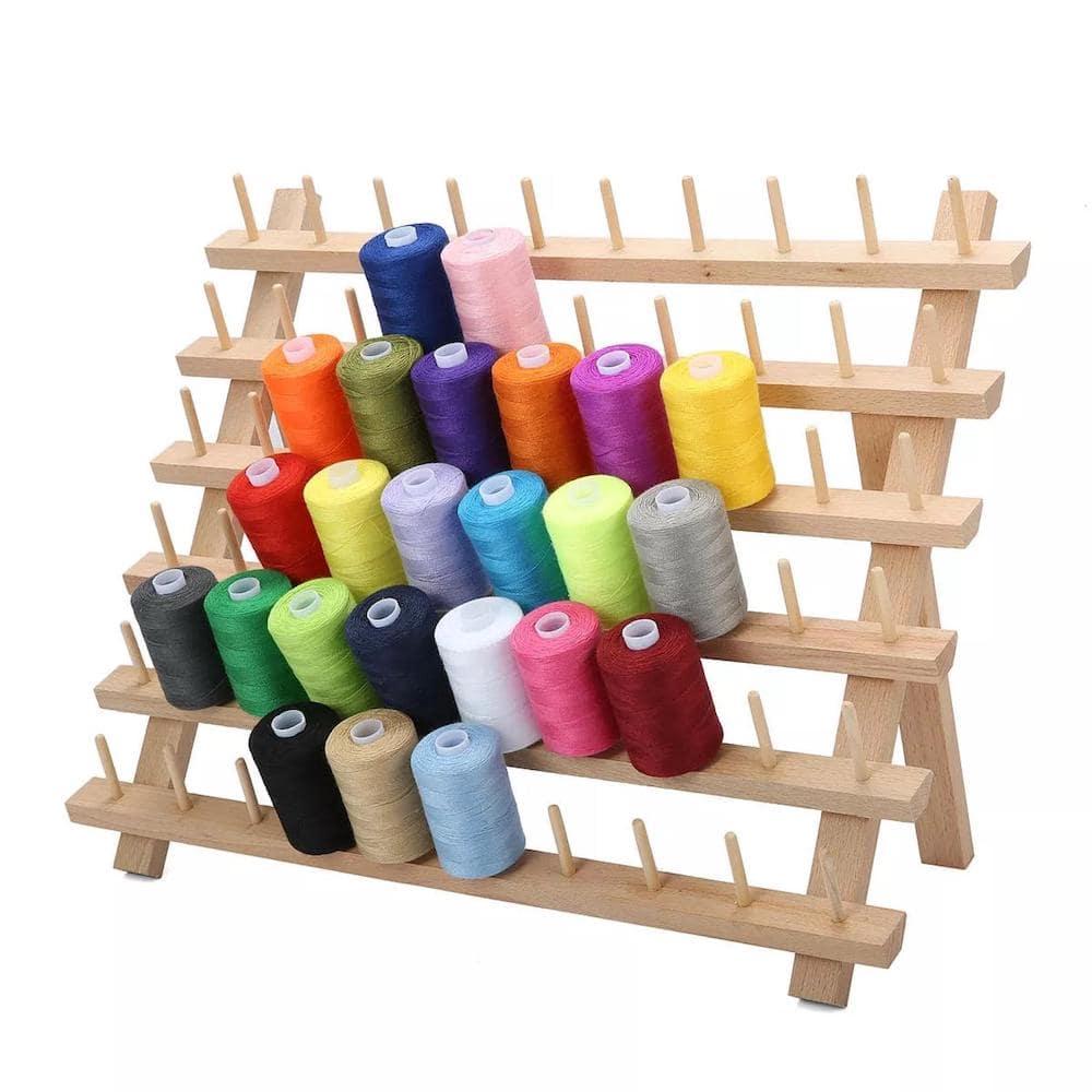 Thread spool rack