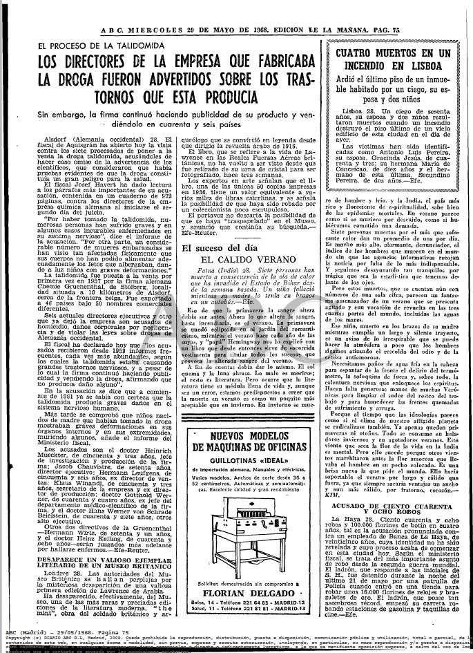 ABC-1968 JUICIO talidomida