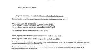 COMPOSICION OFICIAL ENTERO SEDIV TALIDOMIDA GRUNENTHAL GRÜNENTHAL AGENCIA ESPAÑOLA MEDICAMENTO MINISTERIO SANIDAD