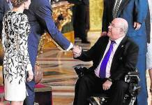 Resultado de busqueda talidomida grunenthal recepcion dia Hispanidad Reyes España SS.MM Felipe Leticia Letizia
