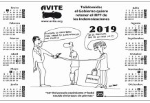 Resultado de búsqueda talidomida Grünenthal Calendario AVITE 2019 denunciando estrategia del gobierno con los talidomídicos