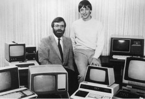Paul Allen e Bill Gate