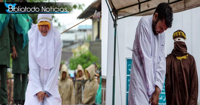 ¿Puede ser un abrazo sinónimo de castigo? Leyes de Indonesia castiga a jóvenes por ello