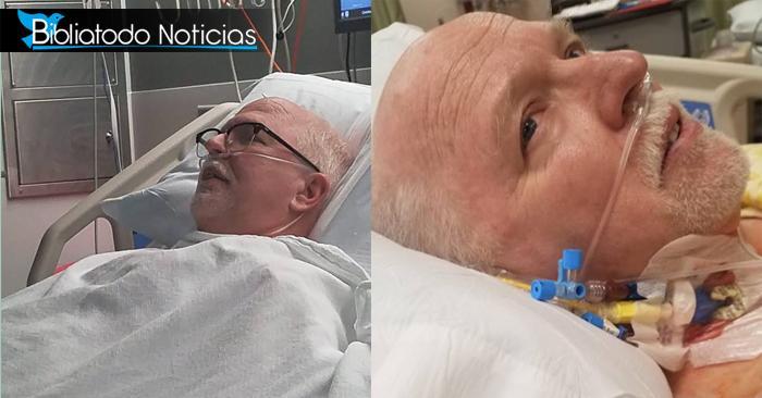 """""""Él está aquí para una visita, me dijo Jesús"""" dice pastor que estuvo en coma por trasplante de pulmón"""