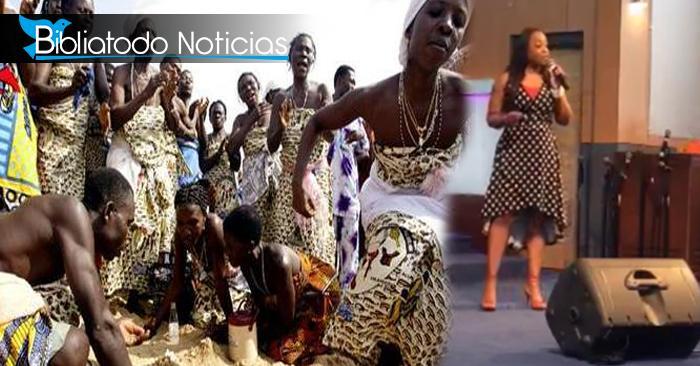 """""""Dios me dio el don de hablar con muertos"""" afirma psíquica que mezcla rituales africanos con el cristianismo"""