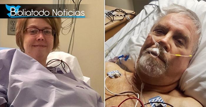 Mujer dona órgano vital al hombre que la ayudó a salvar la vida de su hija