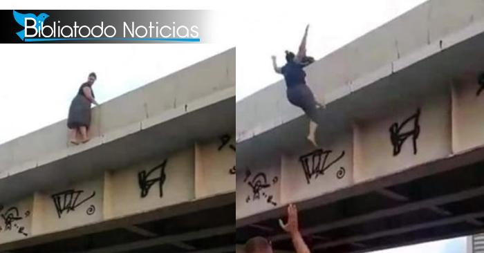 Pastora de Brasil se suicida en vía pública (FUERTES IMÁGENES)