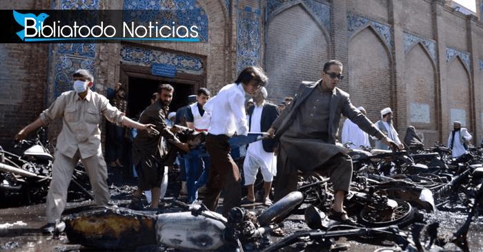 ÚLTIMA HORA: Cifra de muertos y heridos asciende tras explosión en mezquita de Afganistán