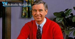 "Fred Rogers en ""Mr. Rogers Neighborhood"""