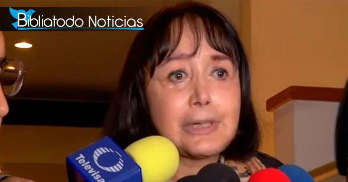 """""""La Chilindrina"""" da alarmantes declaraciones después de la muerte de su esposo."""