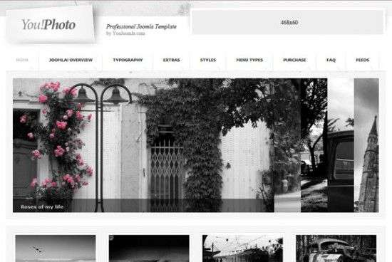 youphoto 550x368 - You Photo Joomla Template