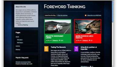 forewordthinking spaceblue - Foreword Thinking : Premium Wordpress Theme
