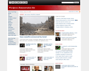 the beeb bbc avjthemes - The Beeb (BBC clone): Premium Wordpress Theme