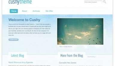 cushy blue - Cushy - Premium Wordpress Theme