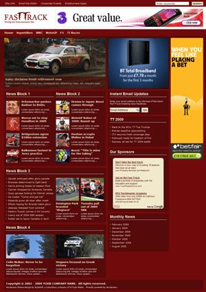 fast track stylewp avjthemescom - Fast Track - Wordpress Theme