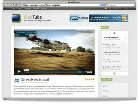 wootube - WooTube - Premium Wordpress Theme