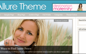 Allure WordPress Theme
