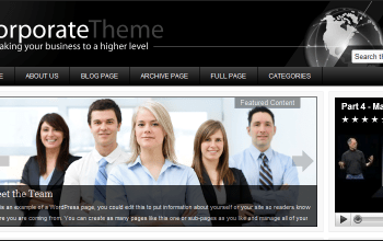 corporate - StudioPress Wordpress Themes