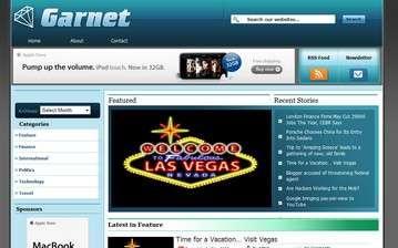garnet avjthemescom - Garnet Wordpress Theme