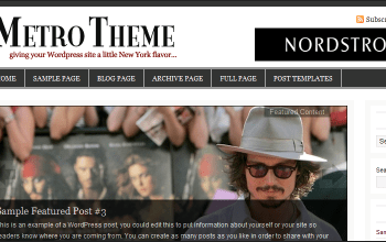 metro - StudioPress Wordpress Themes